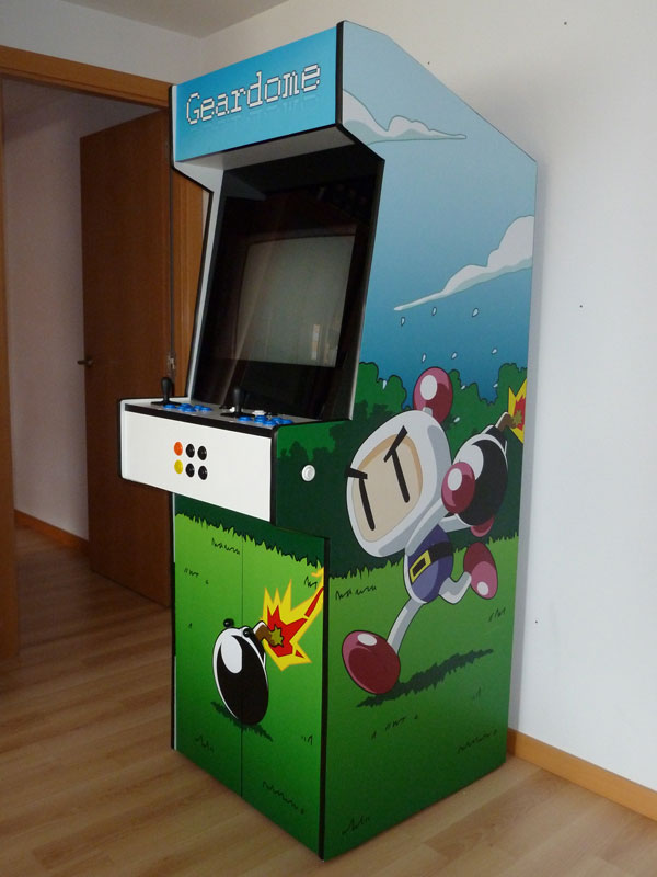 Building The Arcade Cabinet From Scratch Ignacio S 225 Nchez